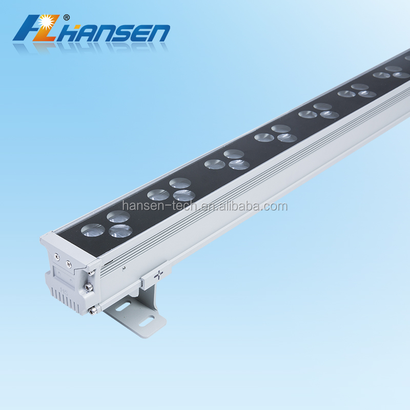 UL ETL approved led strip light 1m 36W RGB led wall washer for project