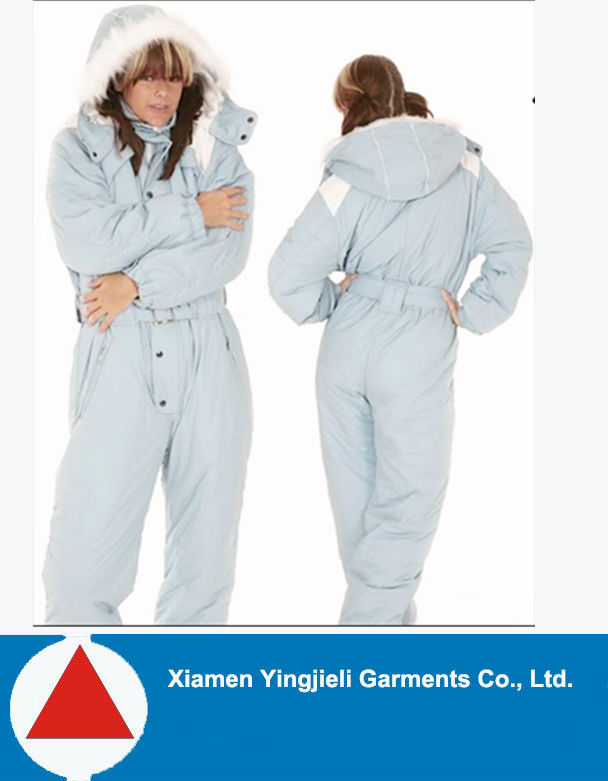 2015 Hot Sale Waterproof Insulated Plus size Women s ski jumpsuit one piece e3c4d88061