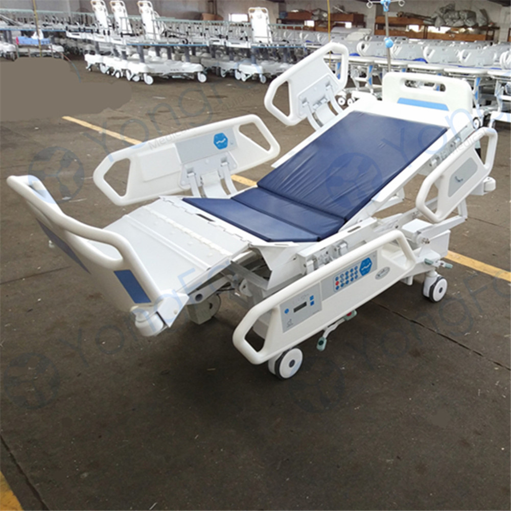 Cardiac chair hospital bed - Yfd5618k V 7 Function Luxurious Cardiac Position Electric Cpr Icu Electric Hospital Bed Prices