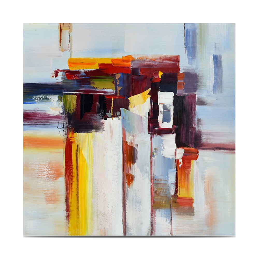 Original modern abstract canvas art wall decoration high quality hand-painted color painting