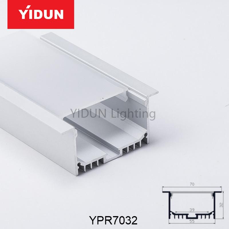 Led Aluminium Kanal Profile Für Led-streifen Aluminium Kanal Profil ...