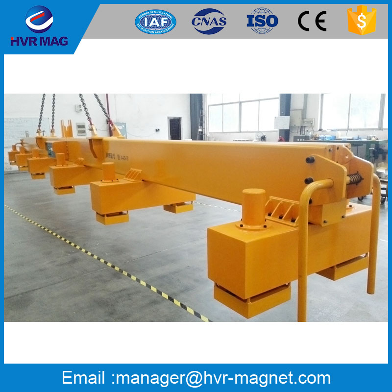 Lifting magnet electro permanent lifting magnet for steel plate handling