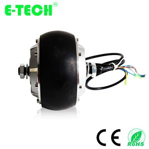 Etech 4.5 inch 250w wheel hub motor with built-in encoder