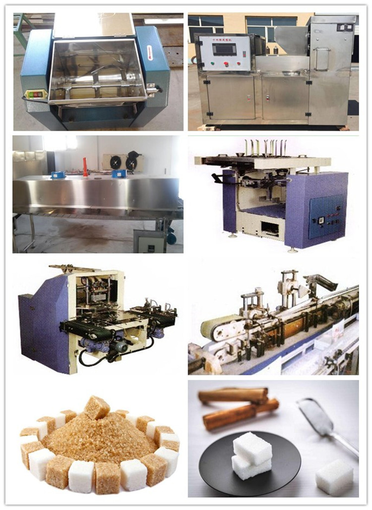 Sugar Cube Lump sugar processing production line/sugar cube making machine