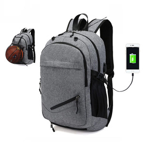 Manufacturer Wholesale Price Fashion Slim Casual 15.6 Inch Laptop Backpack Bag For College School Travel Work with USB charger