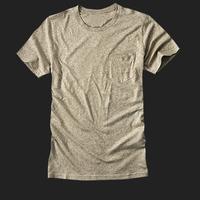 Latest t shirt designs for men soild color soft cotton t shirt and collar pocket plain shirt