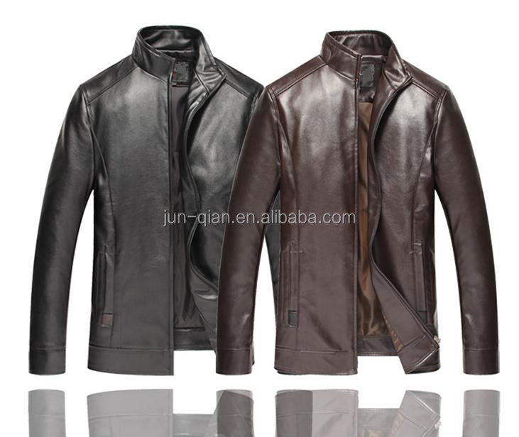 New designs leather suits leather bomber jacket men baby clothes