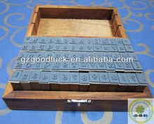 Capital Letter and Lowercase Wooden Rubber Stamp Set/Lovely Wooden Stamp Set With Mini 70PCS