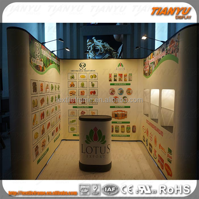 Exhibition Stand Weight : Pvc fabric light weight trade show pop up backdrop buy