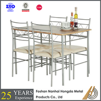 Modern dinning table chair set wooden