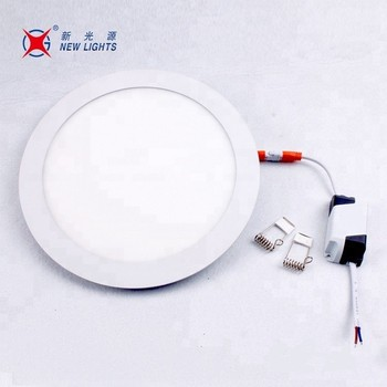6W 85-265V 400LM Round Shape Small Led Panel Light