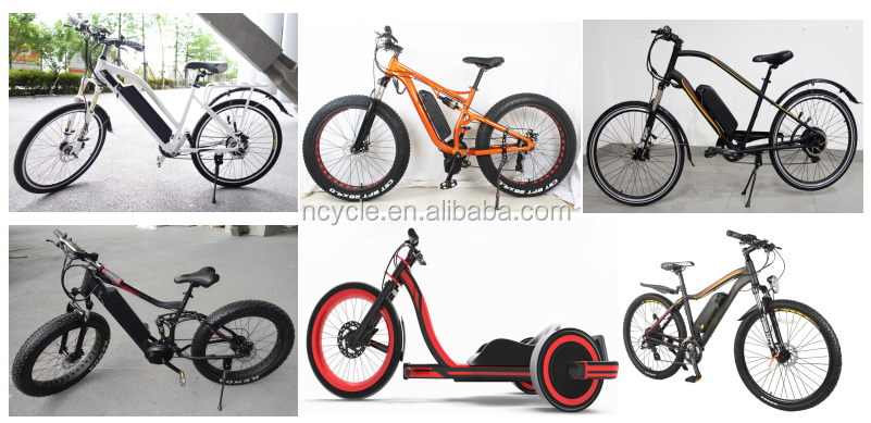 2017newest 36v 350w city electric bicycle With hidden lithium battery