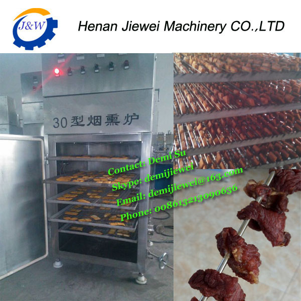 food machinery smoke house/ smokehouse in meat product making machine
