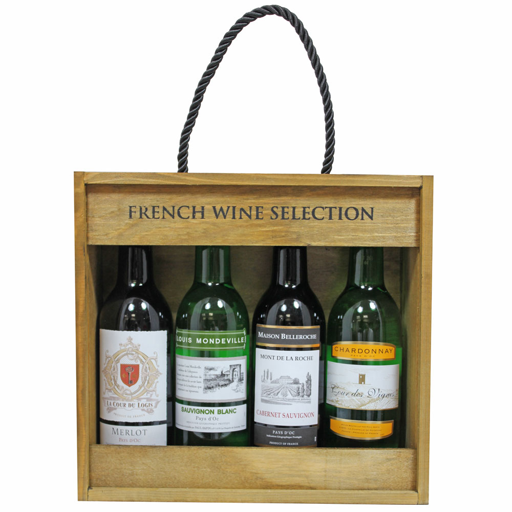Customize Handmade Pu Leather Wooden Wine Packaging Gift Box Wine Bottle Carrier Case Buy Gift Box Wine Gift Box Wine Case Product On Alibaba Com