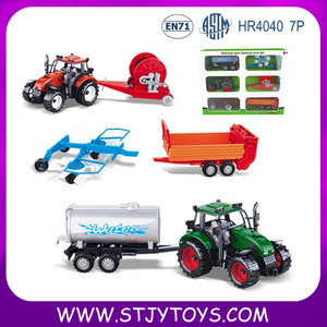2016 New friction tractor toy models