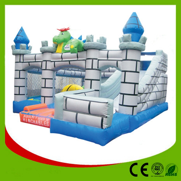 Luxurious Children's Games Inflatable Playground for Sale