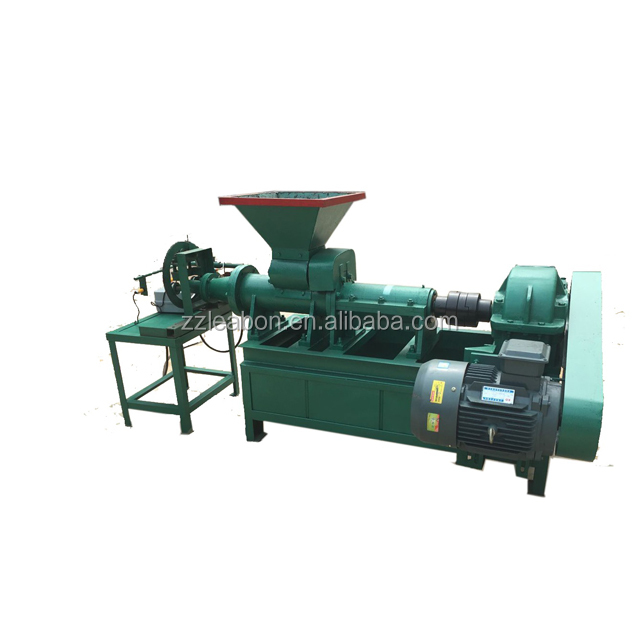 Grinding Adhesive Mixing Barrel Coal Charcoal Powder Briquette Pressing Line