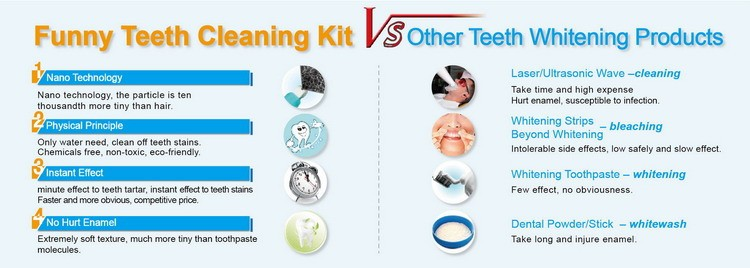 2020 NewTake Home Teeth Whitening Kit For Teeth Whitening Charcoal Powder
