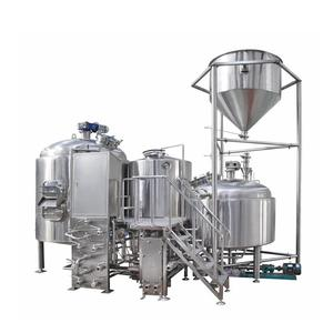 Turnkey industrial kombucha alcohol beer brewing equipement