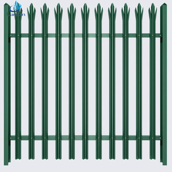 Euro Style Free Standing D W Pale Metal Palisade Security Fence Steel Fencing