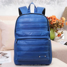 quilted nylon shakeproof sports laptop backpack