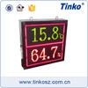 Tinko three color display led monitor temperature and humidity 0-20mA TH64A