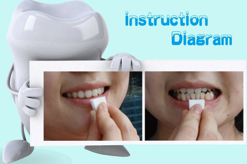 New Innovative Products Ideas 2021 Oral Care Super Clean Teeth Whitening Dental Tooth Brush Sponge with Zero Carbamide Peroxide