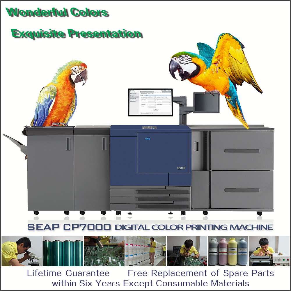 seap cp7000 laptop integrated hydrographic laminated paper <strong>printer</strong>