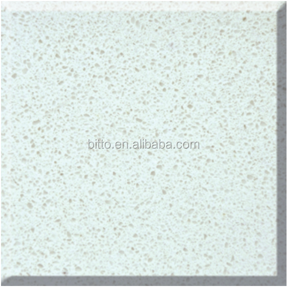 largest size pearl white quartz slabs with small grains
