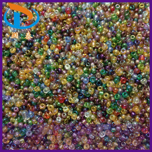 New Style Mini 2MM Fashion Mixed Color AB Glass Plastic Seed Beads