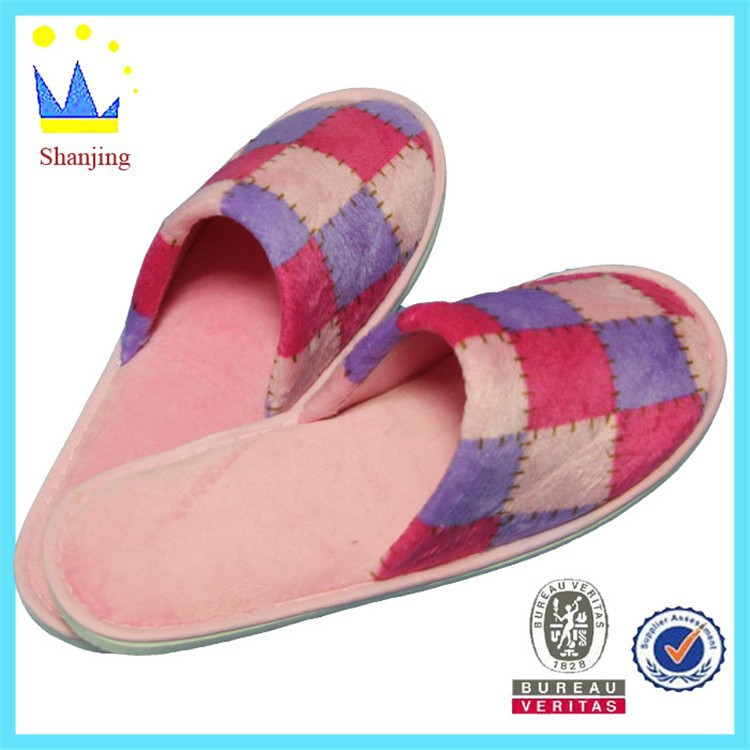 wholesale suit slipper unisex fabric home floor footwear slipper