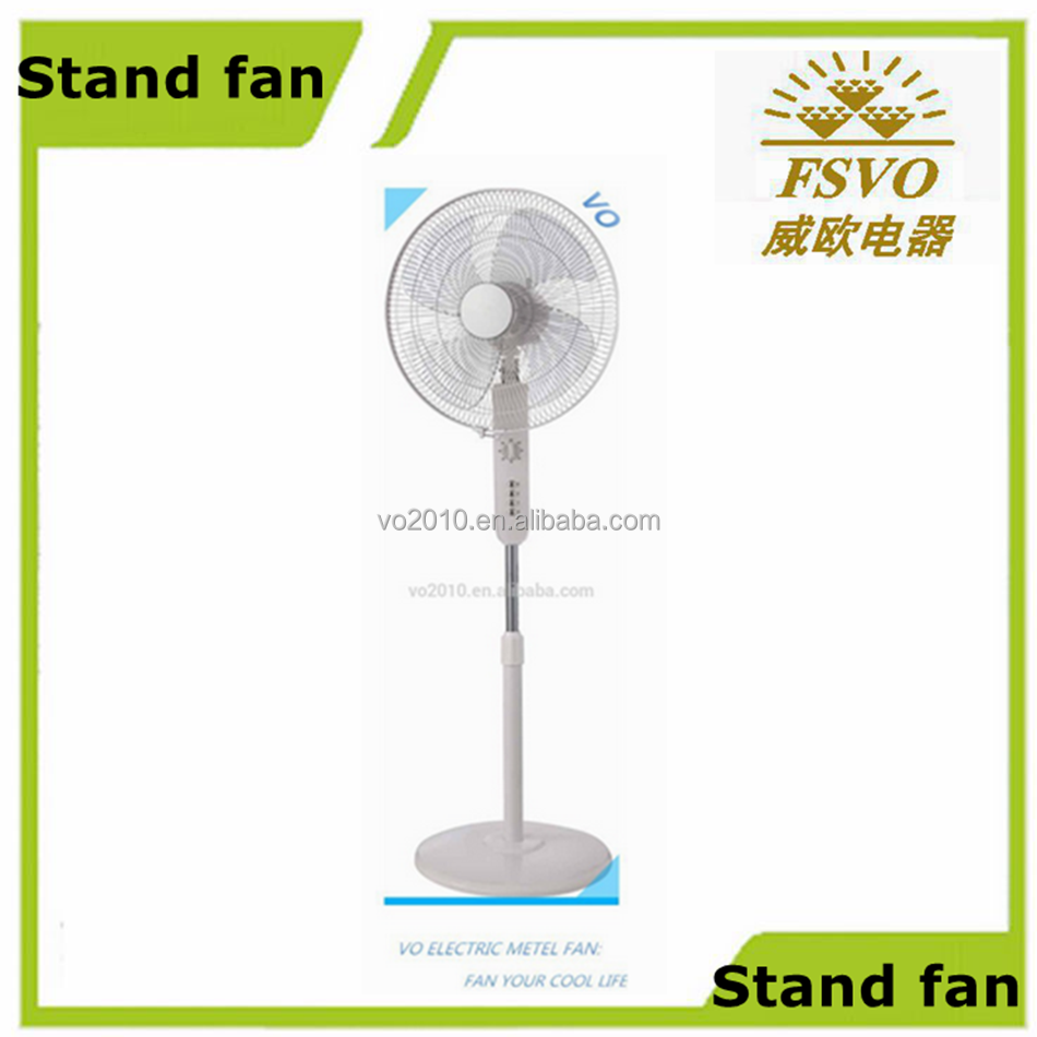 Foshan factory home appliances 16 electric stand fan