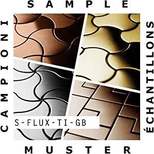 SAMPLE Mosaic S-Flux-Ti-GB | Collection Flux Titanium Gold brushed