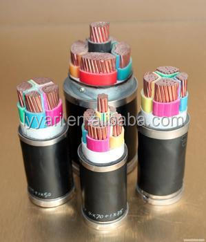 LV/MV/HV PVC/XLPE Power Cable Water Resistant Power Cable YJV/YJLV /YJY/YJLY