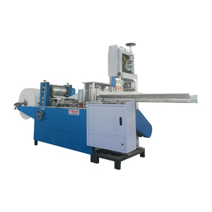 Production Line Machine Embossed Napkin Paper Roll Cutting Folding Machine