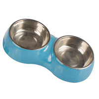 Twins Stainless Dog Melamine Bowl For Food Water