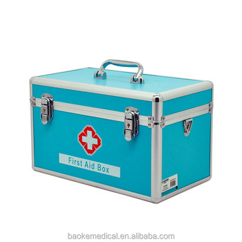 Wholesale Large metal medical first aid box/self helping first aid ...