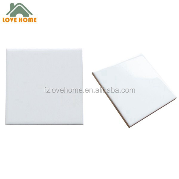 excellent quality super white ceramic wall tile 15x15 cm