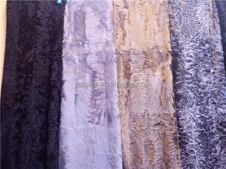 First grade xianggao xiang lamb fur plate real fur fabric 2017 new dyed style