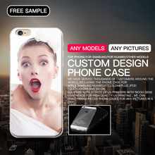Custom design phone case for iPhone 6 7 plus Huawei p8 p9 lite Samsung s6 s7 edge HTC M9 sublimation case UV case dropshipping