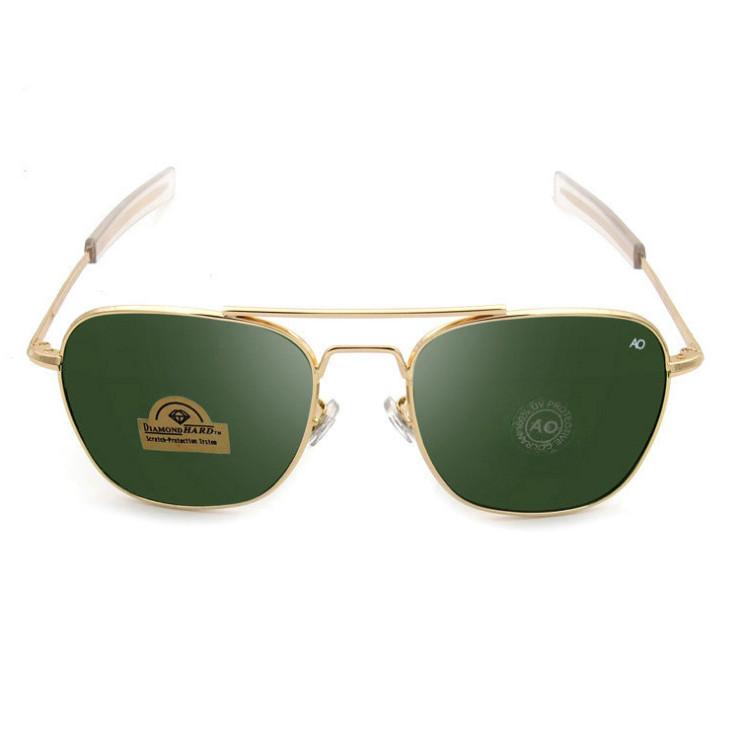 Vintage Aviation Sunglasses Men 2018 High Quality American Army Military Optical Ao Sun Glasses Women Oculos De Sol Masculino Big Clearance Sale Men's Glasses Men's Sunglasses