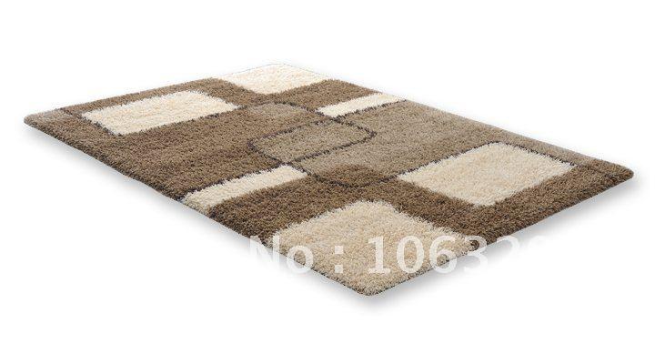 tappeto a pelo lungo 120 x 180 cm 2 colori a scelta arredo ...