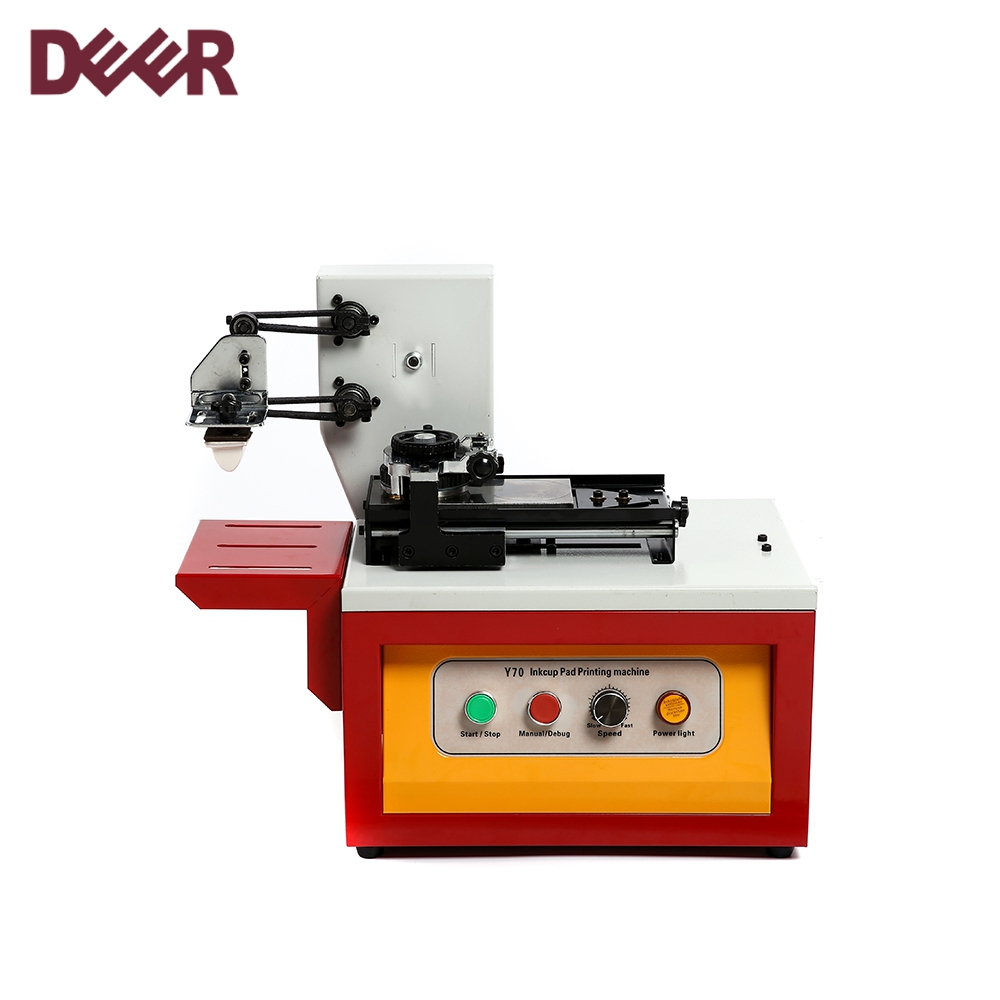 Wholesale hot sale semi-automatic oil cup type esktop pad printing