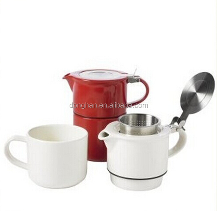 high quality cheap tea for one teapot with stainless filter