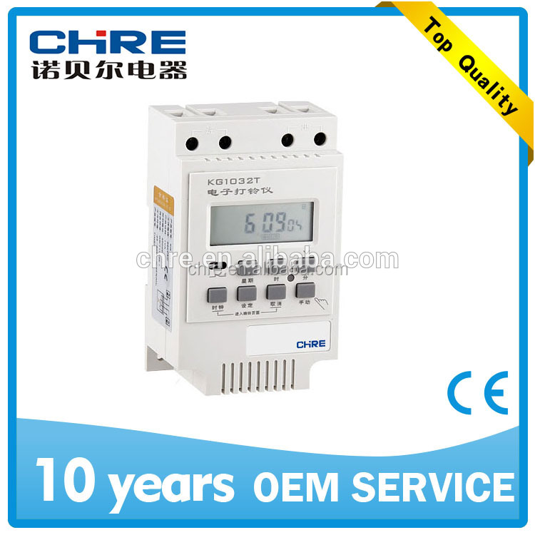 Electrical Bell Automatical Timer Switch KG1032T