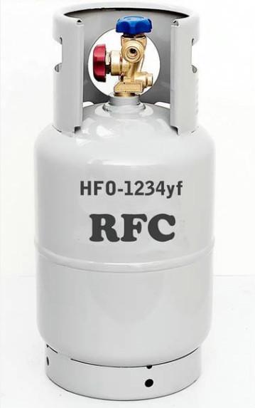 Resultado de imagen de gas refrigerante 1234yf