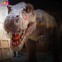 Outdoor Amusement Park Youtube Video Animatronic Dino Manufacturer