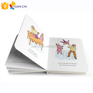Children board book printing comic book printing first aid knowledge book for children