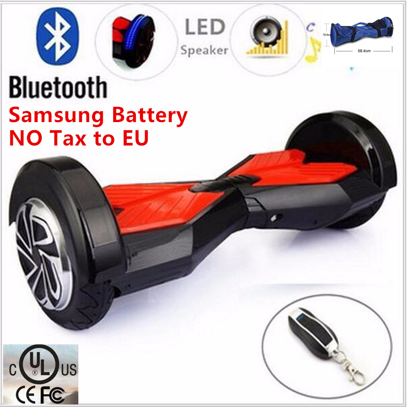 8 Inch 2 Wheel Self Smart Balance Unicycle Electric Standing Scooter Hoverboard