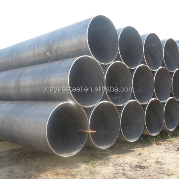 EN 10219 Double Flanged SAWH Steel Pipes / Dredging Pipe